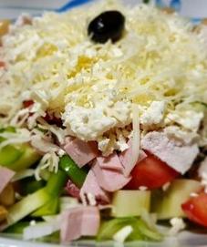 Овчарска салата- ресторант Мира -Враца